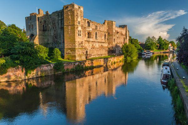 Newark Castle beside the River Trent, Newark-on-Trent, Nottinghamshire