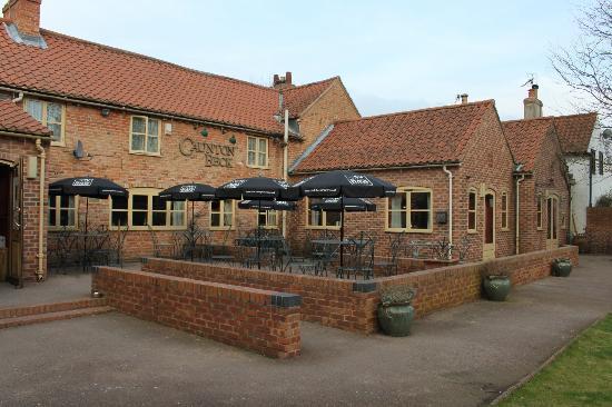 Caunton Beck village pub, Caunton, north Nottinghamshire